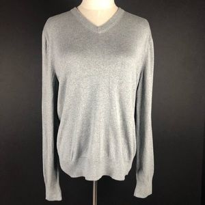 Banana Republic Gray Luxury Blend Sweater Size M